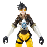 "Overwatch - Tracer 6"" Ultimates Series Collectible Action Figure - Packshot 2"