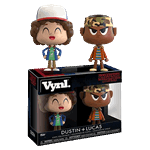 Stranger Things - Lucas and Dustin Vynl Figure 2 Pack - Packshot 1