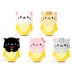 "Bananya - Bananya Bean 4"" Plush Assorted - Packshot 1"