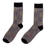 Harry Potter - Spell Swishes Crew Socks - Packshot 1