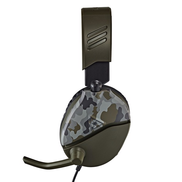 Turtle Beach® Recon 70 Green Camo Gaming Headset - Packshot 6