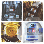 Star Wars - Star Wars Platters 4 Pack - Packshot 1