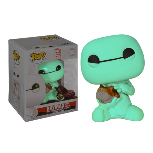 "Disney - Big Hero 6 Baymax with Mochi 6"" Pop! Vinyl Figure - Packshot 2"