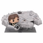Star Wars - Han in Millennium Falcon Pop! Ridez Figure - Packshot 1