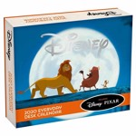 Disney - Classics & Disney-Pixar 2020 Everyday Desk Calendar - Packshot 1