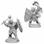 Dungeons & Dragons - Nolzur's Marvelous Miniatures - Male Dragonborn Paladin - Packshot 1