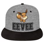Pokemon - Eevee Flat Peak Grey & Black Cap - Packshot 1