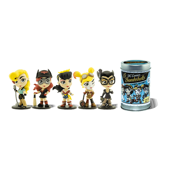 "DC Comics - Lil' Bombshells Mini 3"" Series 1.5 Figures Blind Box (Single Box) - Packshot 2"
