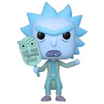 Rick and Morty - Hologram Rick (See You) Glow Pop! Vinyl Figure - Packshot 1