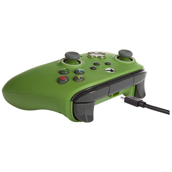PowerA - Enhanced Wired Controller For Xbox – Soldier - Packshot 2
