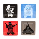 Star Wars - Silhouette Melamine 4-Pack Plate Set - Packshot 1