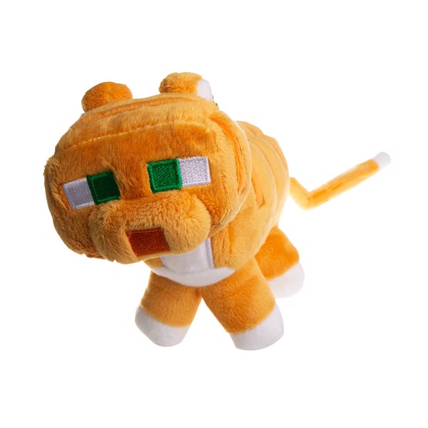 Minecraft - Happy Explorer Calico Cat 18 cm Plush Figure - Packshot 1