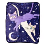 Sailor Moon - Cats Fleece Blanket - Packshot 1