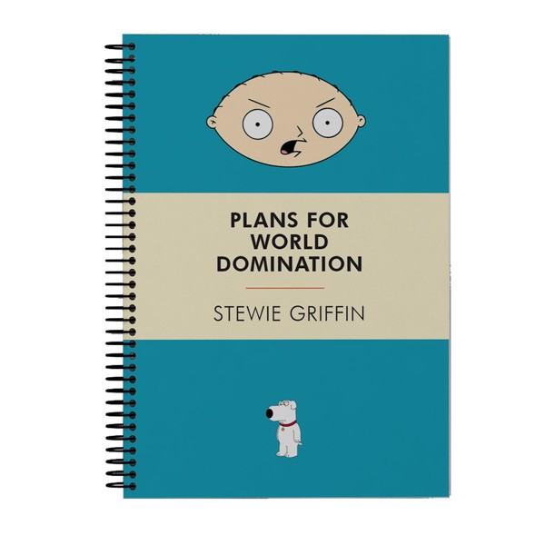 Family Guy - World Domination Notebook - Packshot 1