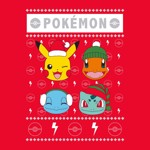 Pokemon - Christmas Starters T-Shirt - XL - Packshot 2