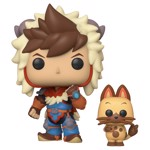 Monster Hunter Stories - Lute with Navirou Pop! Vinyl Figure - Packshot 1