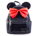 Disney - Minnie Mouse Black Loungefly Backpack - Packshot 1