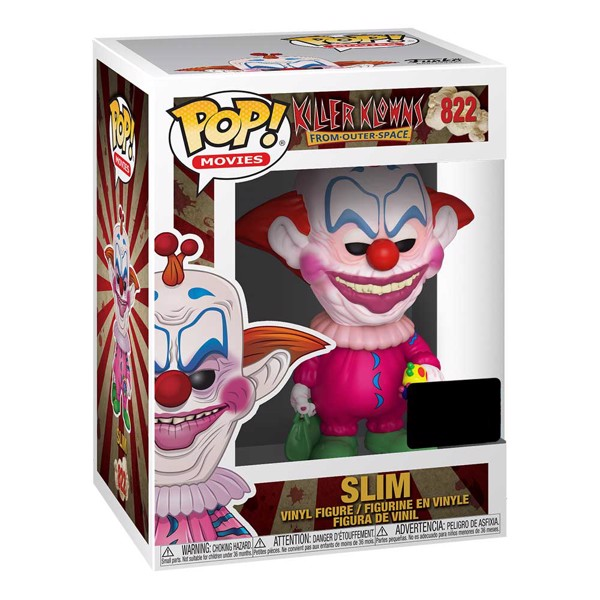 Killer Klowns from Outer Space - Clown NYCC19 Pop! Vinyl Figure - Packshot 2