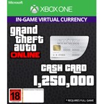 Grand Theft Auto Online - Great White Shark 1,250,000 Cash Card - Packshot 1