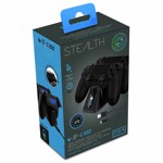 PlayStation 4 Stealth Double Controller Charging Dock - Packshot 2