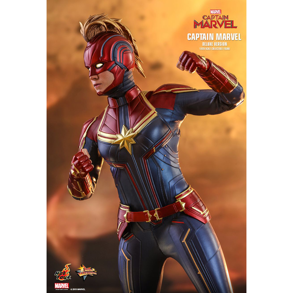 "Marvel - Captain Marvel Deluxe 12"" 1/6 Scale Action Figure - Packshot 5"