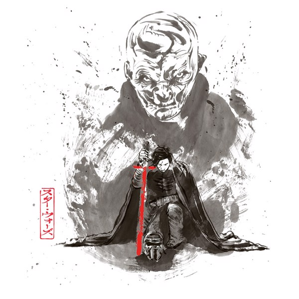 Star Wars - Kylo With Snoke T-shirt - L - Packshot 2