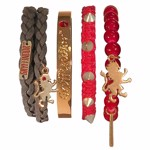 Harry Potter - Gryffindor Arm Party Bracelet Set - Packshot 1