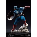 Marvel - Super Soldier Captain America ARTFX Premier series Statue - Packshot 6