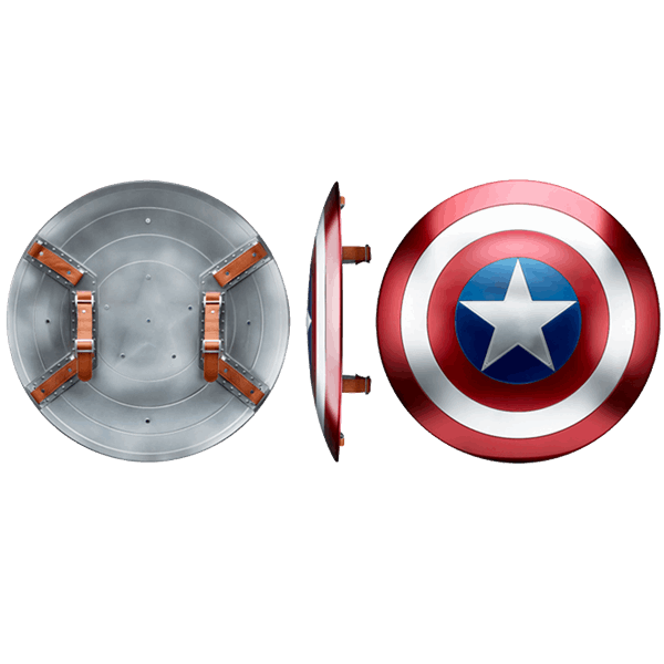 "Marvel - Captain America - Shield Marvel Legends 24"" Replica - Packshot 2"