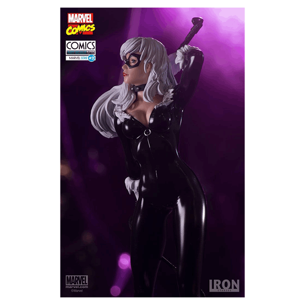 Marvel - Black Cat 1/10 Scale Iron Studios Statue - Packshot 2
