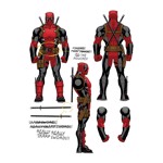 Marvel - Deadpool Notes T-Shirt - Packshot 2