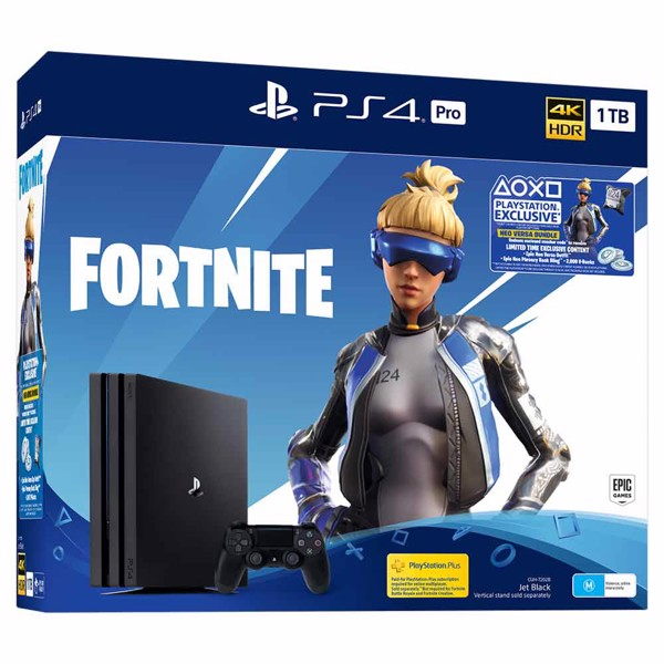PlayStation 4 Pro 1TB Fortnite Neo Versa Console - Packshot 1