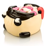 Pug Snack Moulded Bowl - Packshot 1