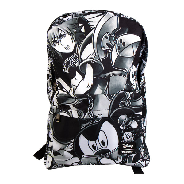 Kingdom Hearts - Black and White Loungefly Backpack - Packshot 1