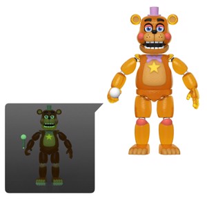 Five Nights at Freddy's Pizza Simulator - Rockstar Freddy Glow in the Dark Action Figure