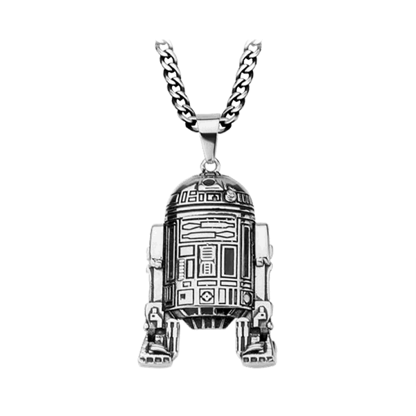 Star Wars - R2-D2 Steel Pendant with Chain - Packshot 1