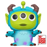 "Disney - Pixar Remix - Alien as Sulley 10"" Pop! Vinyl Figure - Packshot 1"