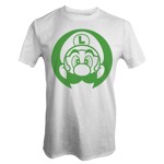 Nintendo - Super Mario Bros - Luigi Face T-Shirt - Packshot 1