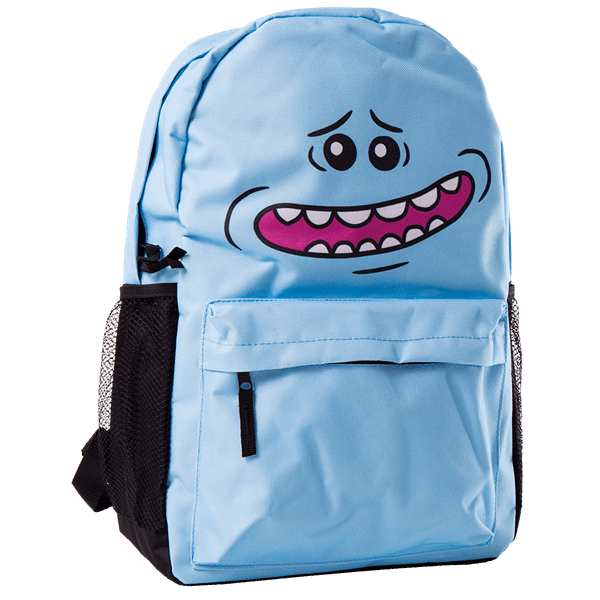Rick and Morty - Mr Meeseeks Face Backpack - Packshot 2