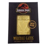 Jurassic Park - 24k gold plated Welcome Gates - Packshot 5