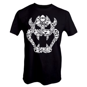 Nintendo - Super Mario Bros - Bowser T-Shirt - Clothing