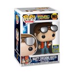 Back to the Future - Marty checking watch SDCC 2020 Pop! Vinyl Figure - Packshot 2
