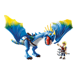 How to Train Your Dragon - Astrid and Stormfly PlayMobil Construction Set - Packshot 1