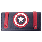 Marvel - Captain America Shield Loungefly Clutch Wallet - Packshot 1