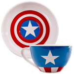 Marvel - Captain America Tea Cup & Saucer Set of 2 - Packshot 2