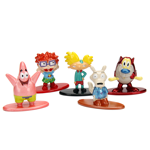 Nickelodeon - 90s Characters Nano Metalfigs 5-Pack A - Packshot 3