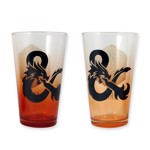 Dungeons & Dragons - Crit & Fail Pint Glass 2-Pack - Packshot 2