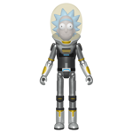 Rick and Morty - Space Suit Rick Metallic Action Figure - Packshot 1