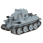 Girls und Panzer - BT-42 Nendoroid Figure - Packshot 1