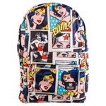 DC Comics - Wonder Woman Comic Strip All-Over Print Loungefly Backpack - Packshot 1